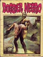Dossier Negro -37- Frankenstein