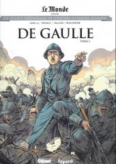 Les grands Personnages de l'Histoire en bandes dessinées -52- De gaulle - Tome 1