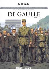 Les grands Personnages de l'Histoire en bandes dessinées -53- De gaulle - Tome 2