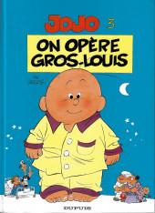 Jojo (Geerts) -3a2004- On opère Gros-Louis