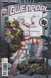 Unbelievable Gwenpool (The)  (Marvel comics - 2016) -8VC- The Unbelievable Gwenpool #8
