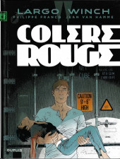 Largo Winch -18a2016- Colère rouge