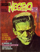 Dossier Negro -69- Frankenstein