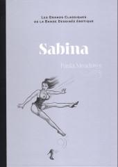 Les grands Classiques de la Bande Dessinée érotique - La Collection -123125- Sabina