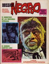 Dossier Negro -72- El monstruo de las montañas serradas