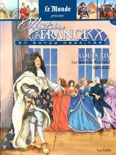 Histoire de France en bande dessinée -27- Louis XIV les fastes du Roi-Soleil 1661-1682