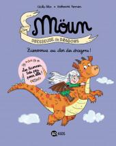 Moün, dresseuse de dragons -1- Bienvenue au Clos des dragons !