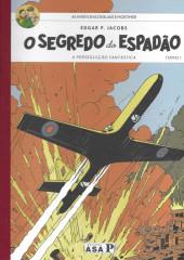 Blake e Mortimer (en portugais) (Público - Edições ASA) -1- O segredo do Espadão - Tomo I: A perseguição fantástica