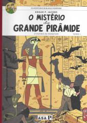 Blake e Mortimer (en portugais) (Público - Edições ASA) -4- O mistério da Grande Pirâmide - Tomo I: O papiro de Maneton