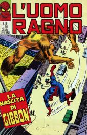 L'uomo Ragno V1 (Editoriale Corno - 1970)  -111- La Nascita di Gibbon