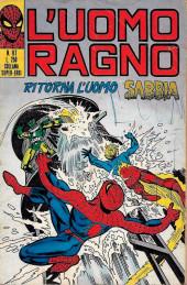L'uomo Ragno V1 (Editoriale Corno - 1970)  -117- Ritorna l'Uomo Sabbia