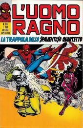 L'uomo Ragno V1 (Editoriale Corno - 1970)  -118- La Trappola dello Spaventoso Quartetto