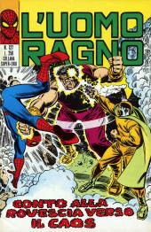 L'uomo Ragno V1 (Editoriale Corno - 1970)  -127- Conto alla rovescia verso il Caos