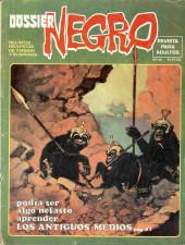 Dossier Negro -110- Los antiguos medios