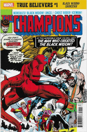 True Believers: Black Widow - Darkstar -1- The Man Who Created the Black Widow