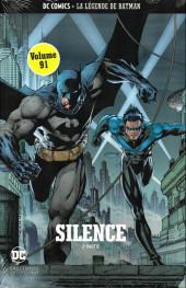 DC Comics - La légende de Batman -9191- Silence - 2ème partie