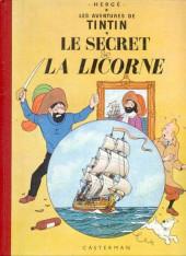 Tintin (Historique) -11B19- Le secret de la Licorne