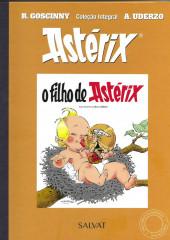 Astérix (Coleção Integral - Salvat) -8- O filho de Astérix