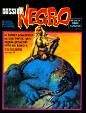 Dossier Negro -113- Carroña