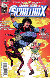 Jackie Chan's Spartan X: The Armour of Heaven (Topps comics - 1997) -3- Issue # 3