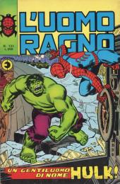 L'uomo Ragno V1 (Editoriale Corno - 1970)  -131- Un Gentiluomo di nome Hulk !