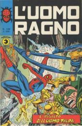 L'uomo Ragno V1 (Editoriale Corno - 1970)  -146- L'Assalto dell'Uomo Talpa