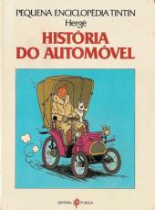Tintim - Divers (en portugais) - Pequena Enciclopédia Tintin - História do automóvel