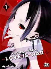 Kaguya-sama : Love is War -1- Tome 1