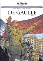 Les grands Personnages de l'Histoire en bandes dessinées -54- De Gaulle - Tome 3