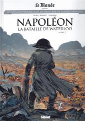 Les grands Personnages de l'Histoire en bandes dessinées -56- Napoléon - La bataille de Waterloo - Tome 2