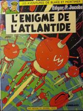 Blake et Mortimer (Les aventures de) (Historique) -6f1977'- L'Énigme de l'Atlantide