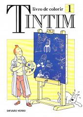 Tintim - Divers (en portugais) - Livro de colorir 1
