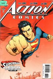 Action Comics (DC Comics - 1938) -858- Superman and the legion of super-heroes (part one)