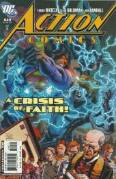 Action Comics (DC Comics - 1938) -849- A crisis of faith !