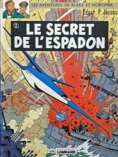 Blake et Mortimer (Les aventures de) (Historique) -2f1976'- Le Secret de l'espadon