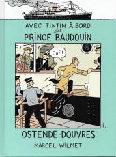 (AUT) Hergé - Avec Tintin à bord du Prince Baudoin - Ostende-Douvres