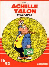 Achille Talon (16/22) -15165- Viva papa !