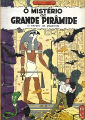 Blake e Mortimer (Aventuras de) (en portugais) -4- O mistério da grande pirâmide - O papiro de Máneton