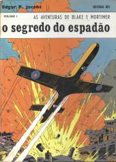 Blake e Mortimer (Aventuras de) (en portugais) -1- O segredo do Espadão - Volume 1