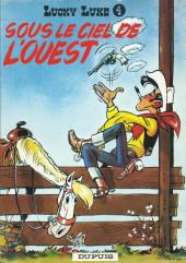 Lucky Luke -4b1969'- Sous le ciel de l'Ouest