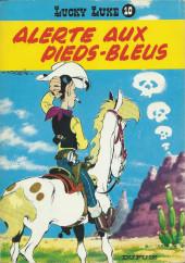 Lucky Luke -10b1972- Alerte aux pieds-bleus