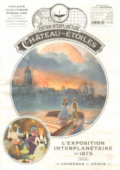 Le château des étoiles -17- L'exposition interplanétaire de 1875, suivi de Les Chimères de Vénus 5/6