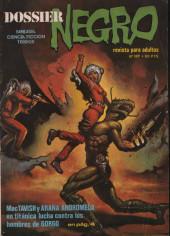 Dossier Negro -128- Mac Tavish y Araña Androméda