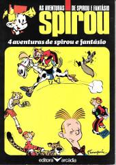 Spirou e Fantásio (en portugais) -1- 4 aventuras de Spirou e Fantásio