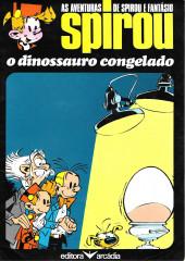 Spirou e Fantásio (en portugais) -13- O dinossauro congelado