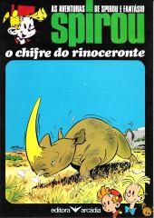 Spirou e Fantásio (en portugais) -6- O chifre do rinoceronte