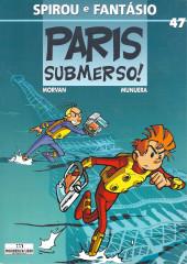 Spirou e Fantásio (en portugais) -47- Paris submerso!