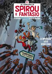 Spirou e Fantásio (en portugais) -51- A invasão dos Zorcons