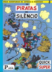 Spirou e Fantásio (en portugais) -10a2007- Os piratas do silência