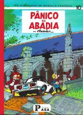 Spirou e Fantásio (en portugais) -22- Pânico na abadia